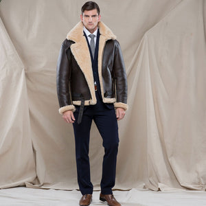 R.A.F. Sheepskin Bomber Jacket