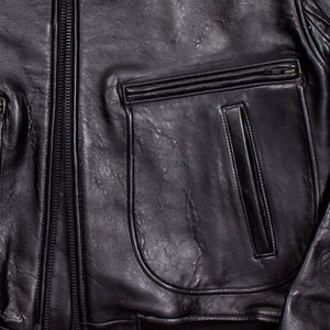 "The Classic ""Raider"" Jacket (Long)-Black"