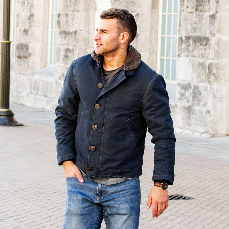 N1 Bedford Cord Navy Jacket