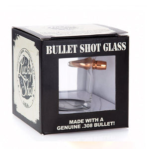 .308 Real Bullet Handmade Shot Glass