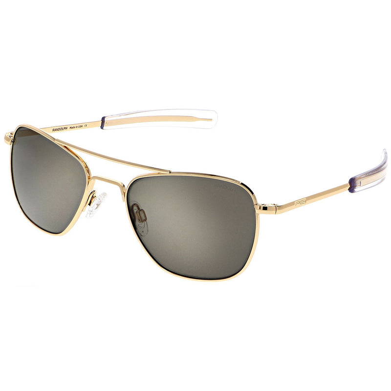 Aviator Sunglasses 23k Gold - Cockpit USA