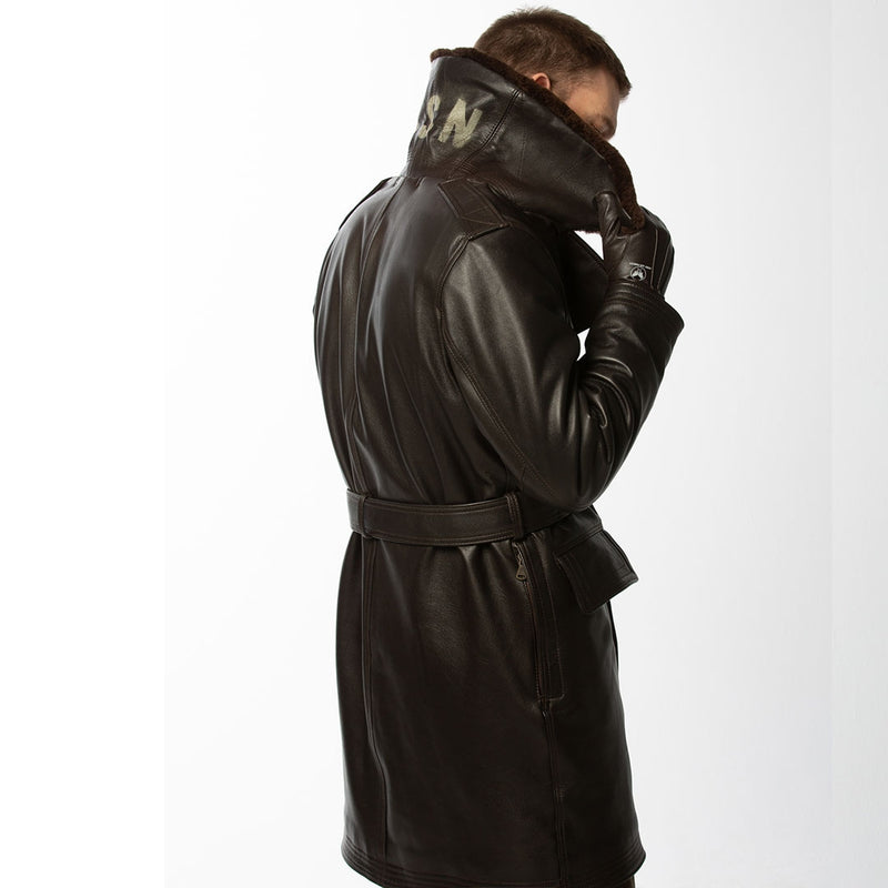 Type M-69D Air Transport Coat back shot on model