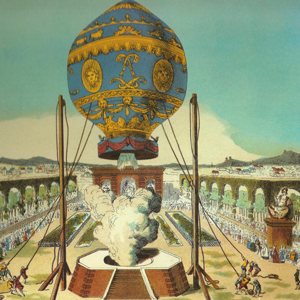 The Montgolfier Brothers were the pioneers of the hot air balloon, who conducted the first untethered flights.