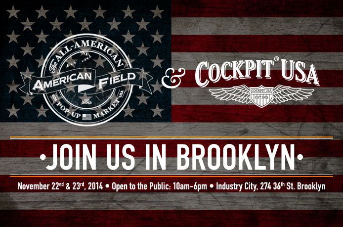 Join us in Brooklyn, November 22 & 23, 2014. Open to the public: 10am-6pm. Industry City, 274, 36th St. Brooklyn