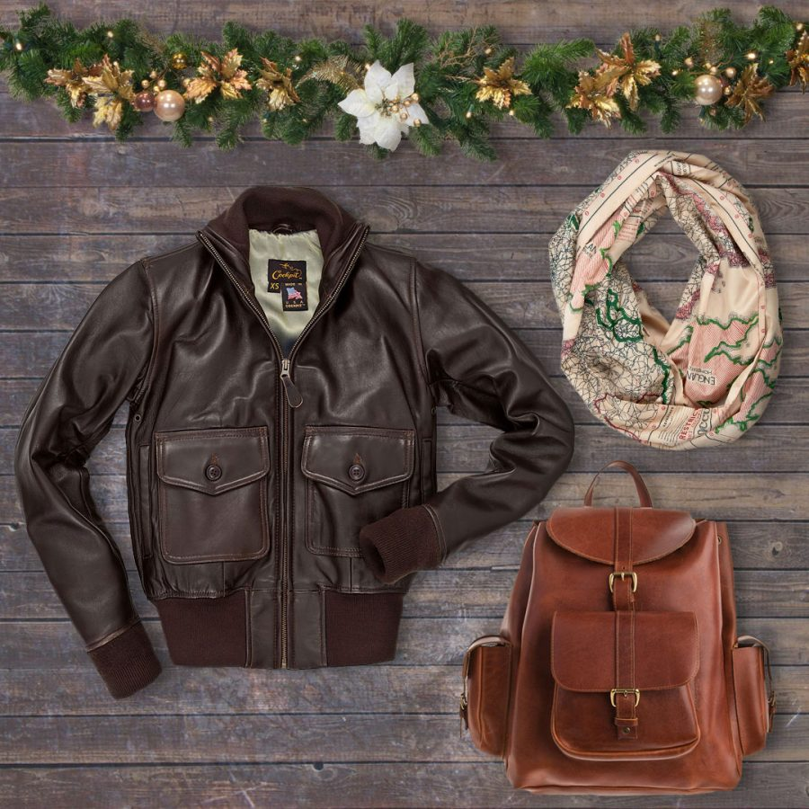 20% OFF The Amelia Jacket, Infinity Map Scarf, and Legacy Leather Backpack with code: DAYTHREE