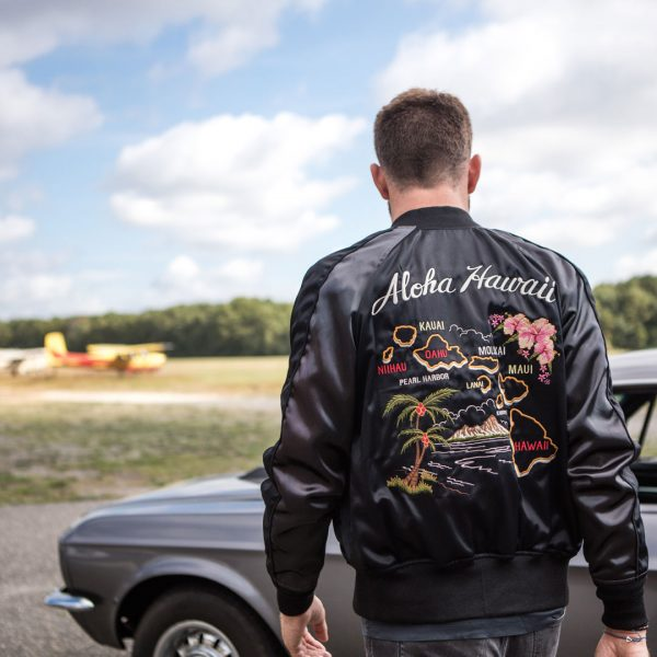 Cockpit USA's Aloha Hawaii Souvenir Jacket