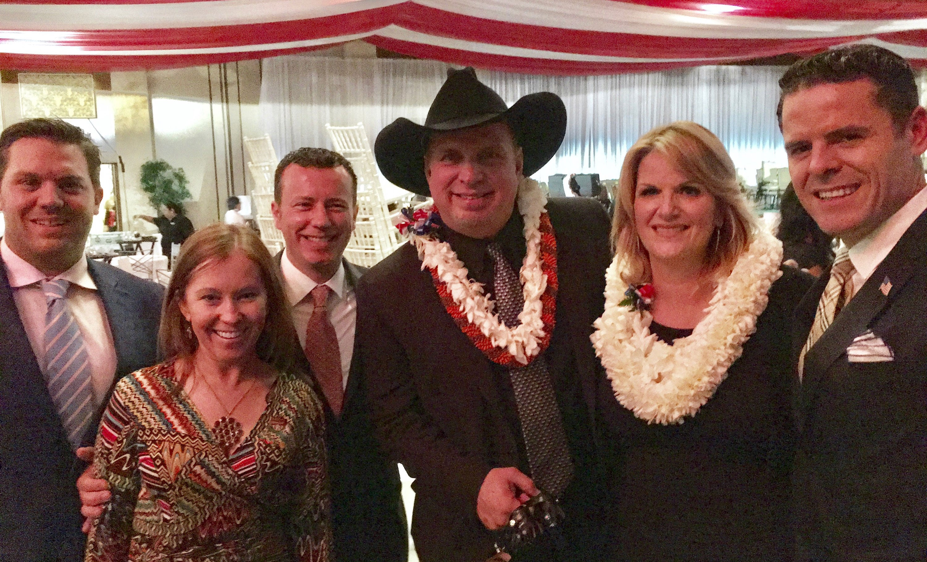 Meeting with Garth Brooks and Trisha Yearwood