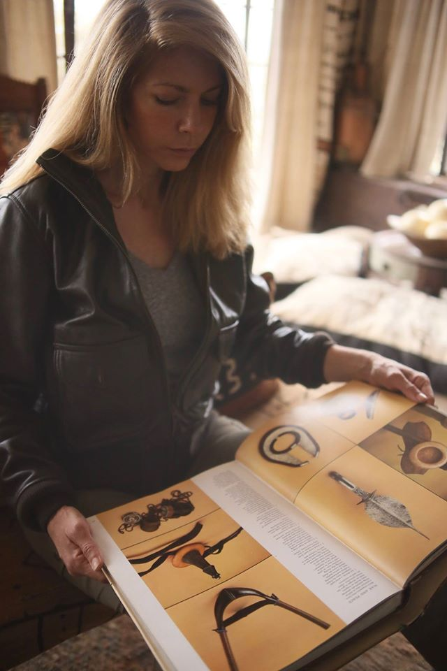 Kire Godal wearing her Amelia Jacket at the African Heritage House. Photograph by Luca Piazzi