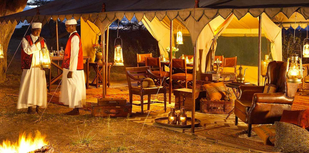 Newland, Tarlton & Co.'s private campsite in the Masai Mara was presented to Don Young for his personal use by the Maasai more than 25 years ago.