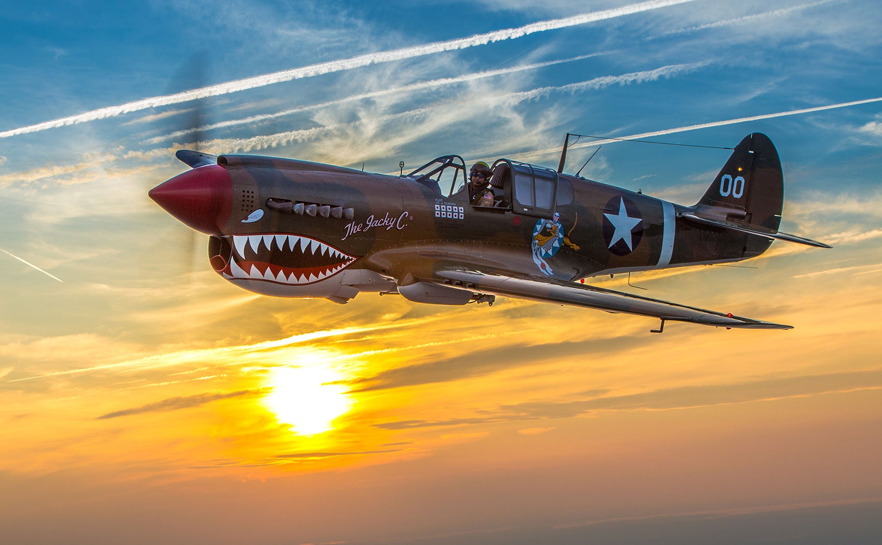 The American Airpower Museum's P-40 will be at SUN 'n FUN in Florida