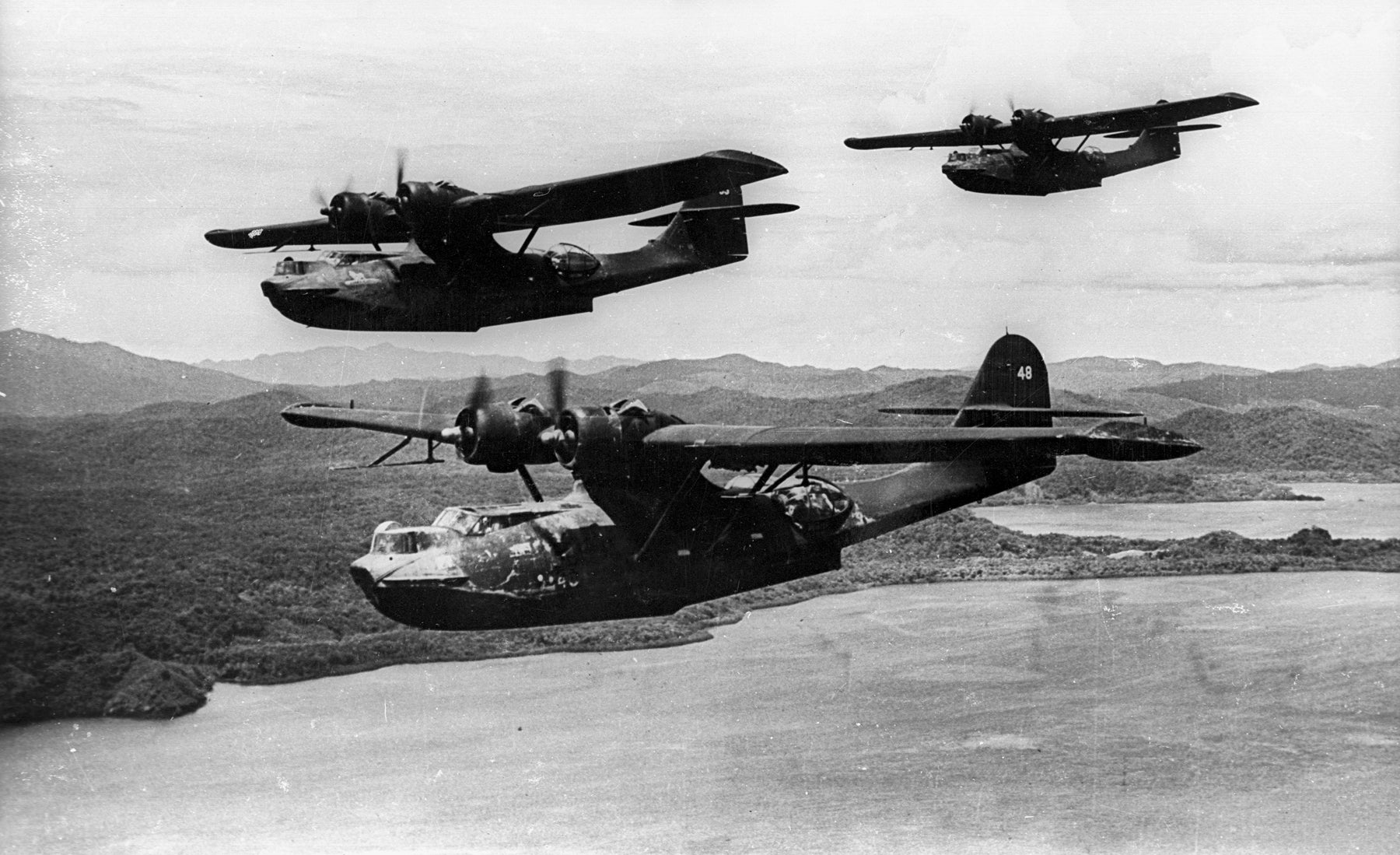 PBY 5As Aircraft, part of The Black Cats Missions