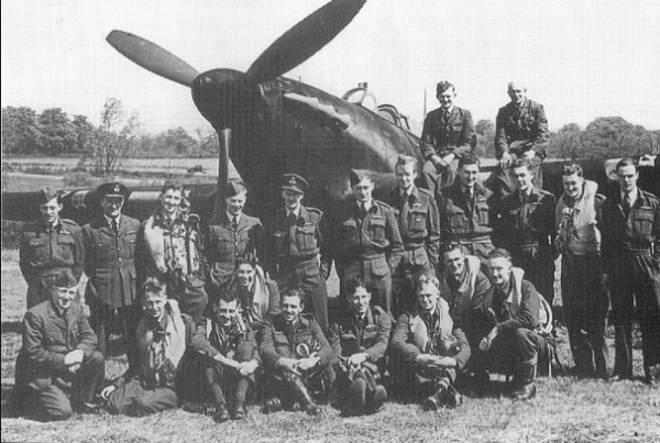 RAF Pilots, 1940 somewhere in England