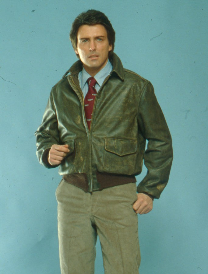 Our 100 Mission A-2 Jacket from a late 70s photo shoot