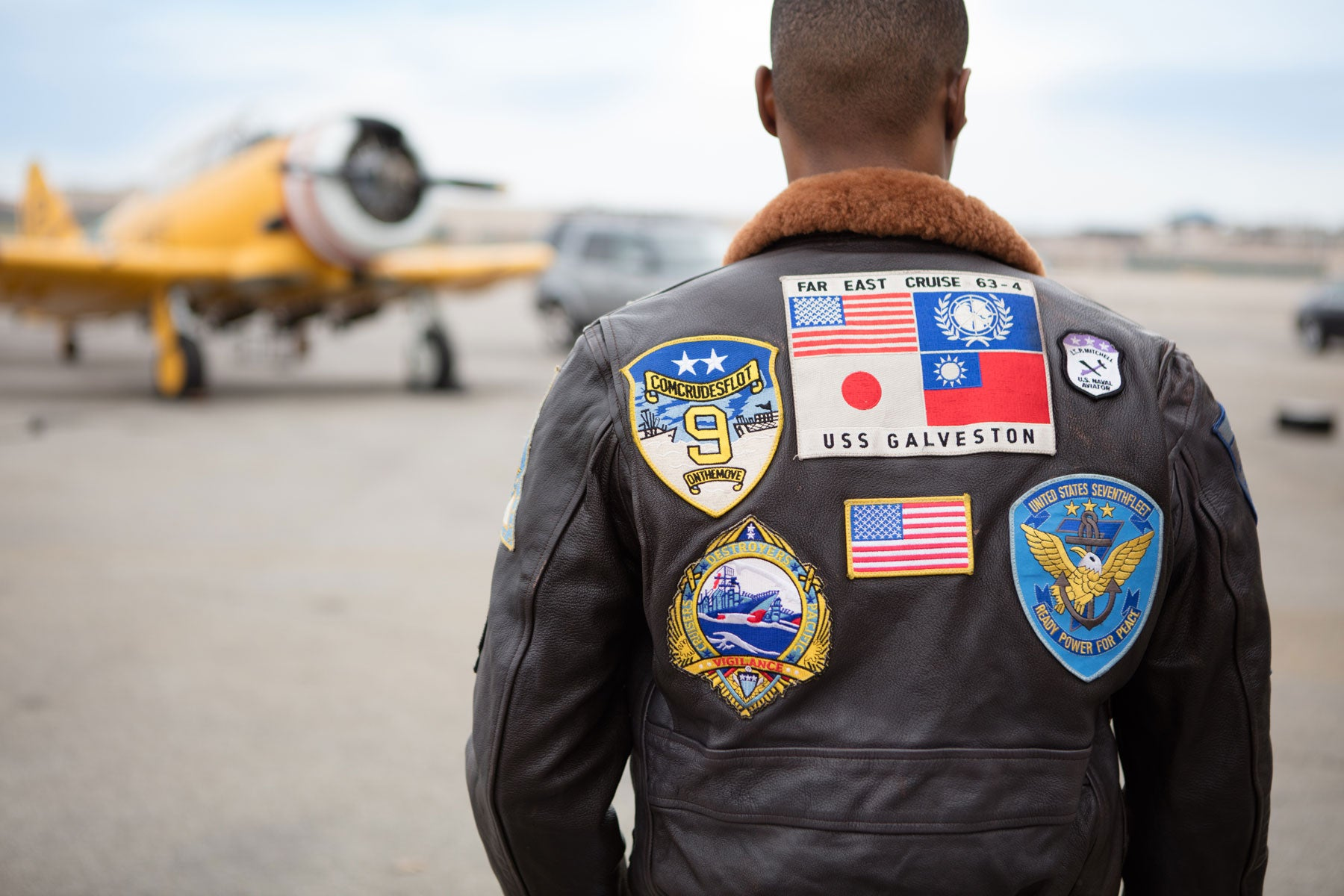 Enter to win a Cockpit USA Movie Heroes Top Gun G-1 Flight Jacket