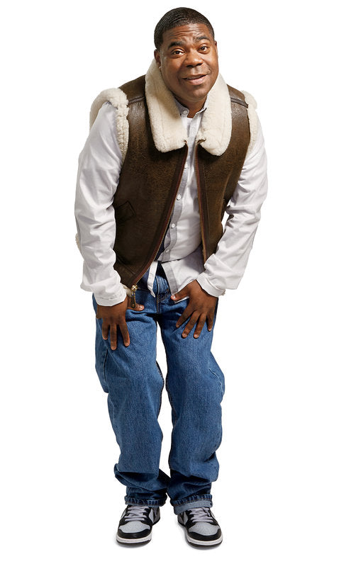 Tracy Morgan for New York Times Magazine in our B-3 Shearling Vest