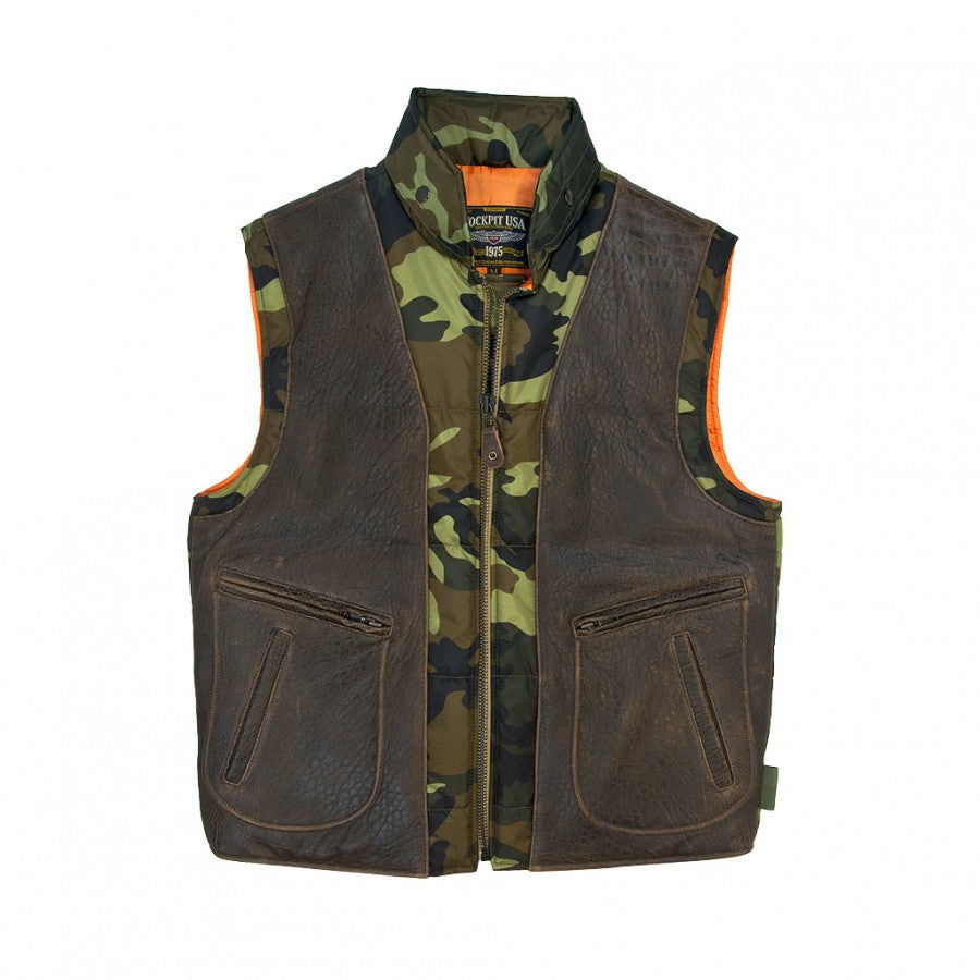 Cockpit USA's Camo Hunting Vest