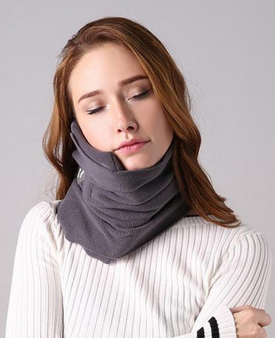 Travel Scarf with Neck Support
