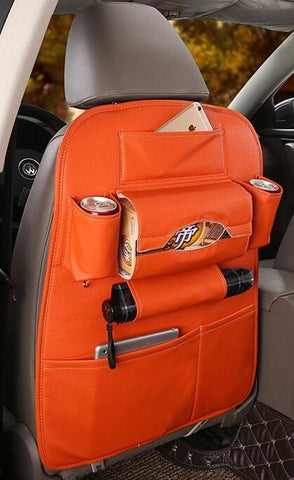 Ultimate Leather Seat Organizer