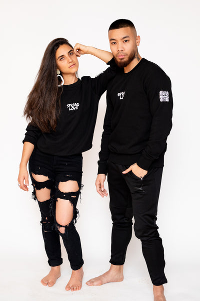 Spread Love Unisex Crew Neck
