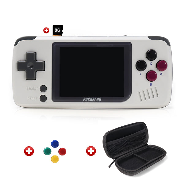 PocketGo + 8GB/32G Micro SD + Bag + Rainbow Buttons