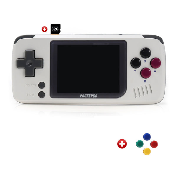 PocketGo Retro Game System