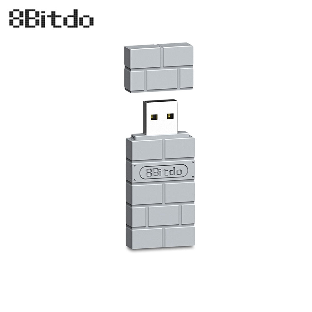 8BitDo USB Wireless Bluetooth Adapter for PlayStation Classic Console PS1 Mini Support PS4 PS3 Xbox Bluetooth Controller