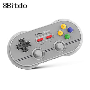 8Bitdo N30 Pro 2 Wireless Bluetooth USB Controller Gamepad Dual Classic D-pad Joystick  Game Pad Support Switch macOS Android