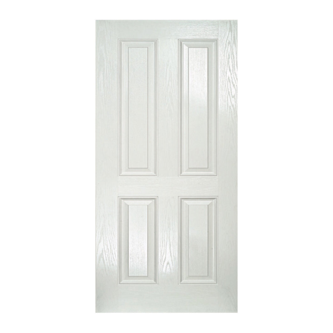 FG 4 Panel- 820 x 2040 x 40 Fibreglass door