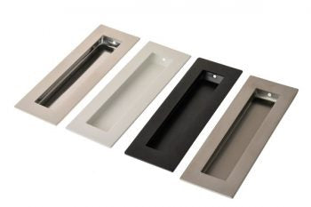 C118- Large Rectangle Sliding Door Flush Pulls
