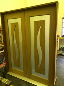 JDQ Illusion Double entrance door package