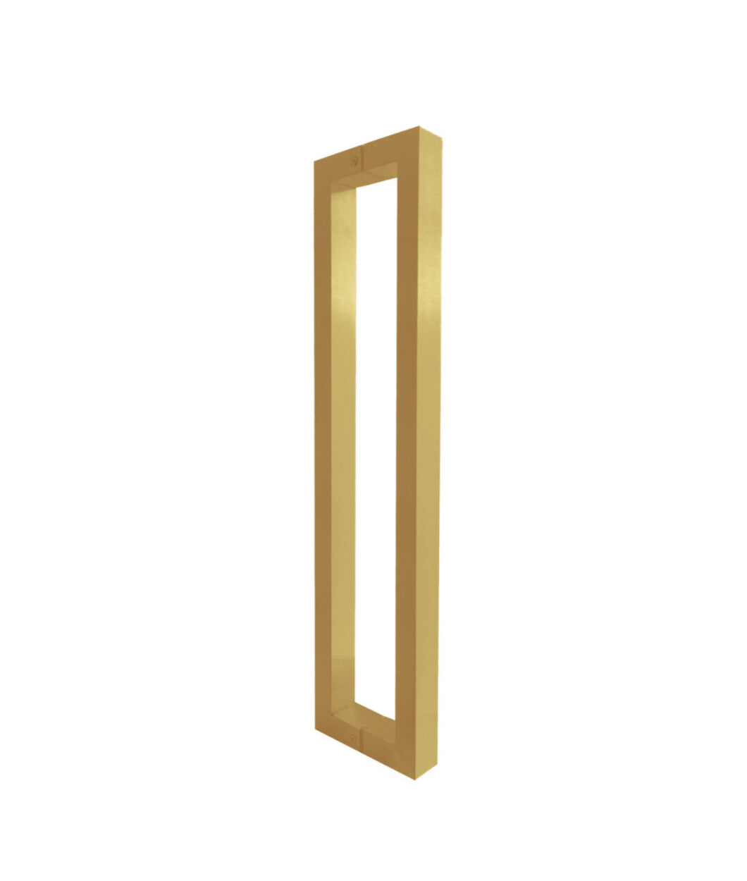 Brushed Brass Door Pull handle (Pair) 600mm