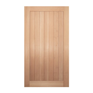 JDQ vertical solid plank Door & Frame Package