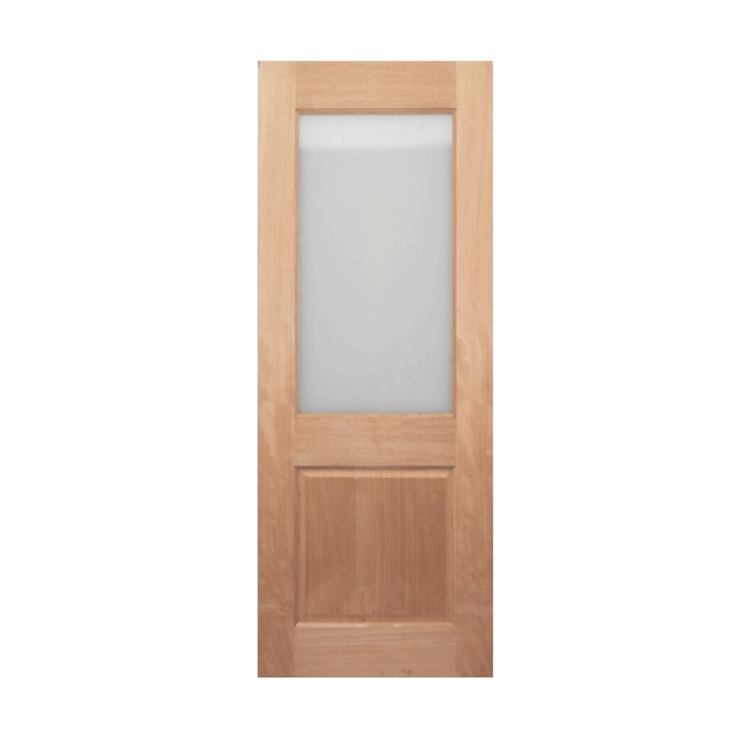 2PG solid timber door. 35 - 40 mm thick