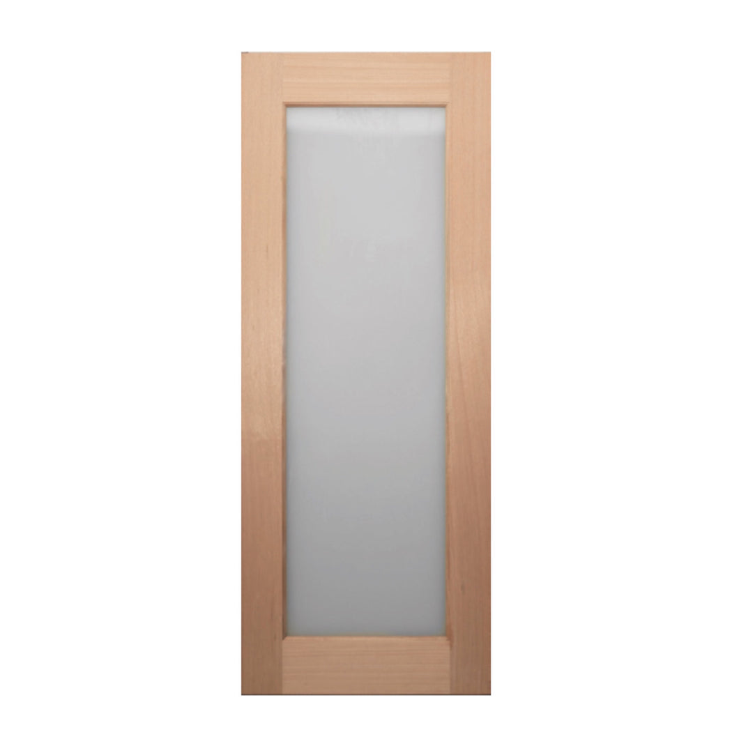 1 lite - 820 x 2040 x 40 Frosted Glass