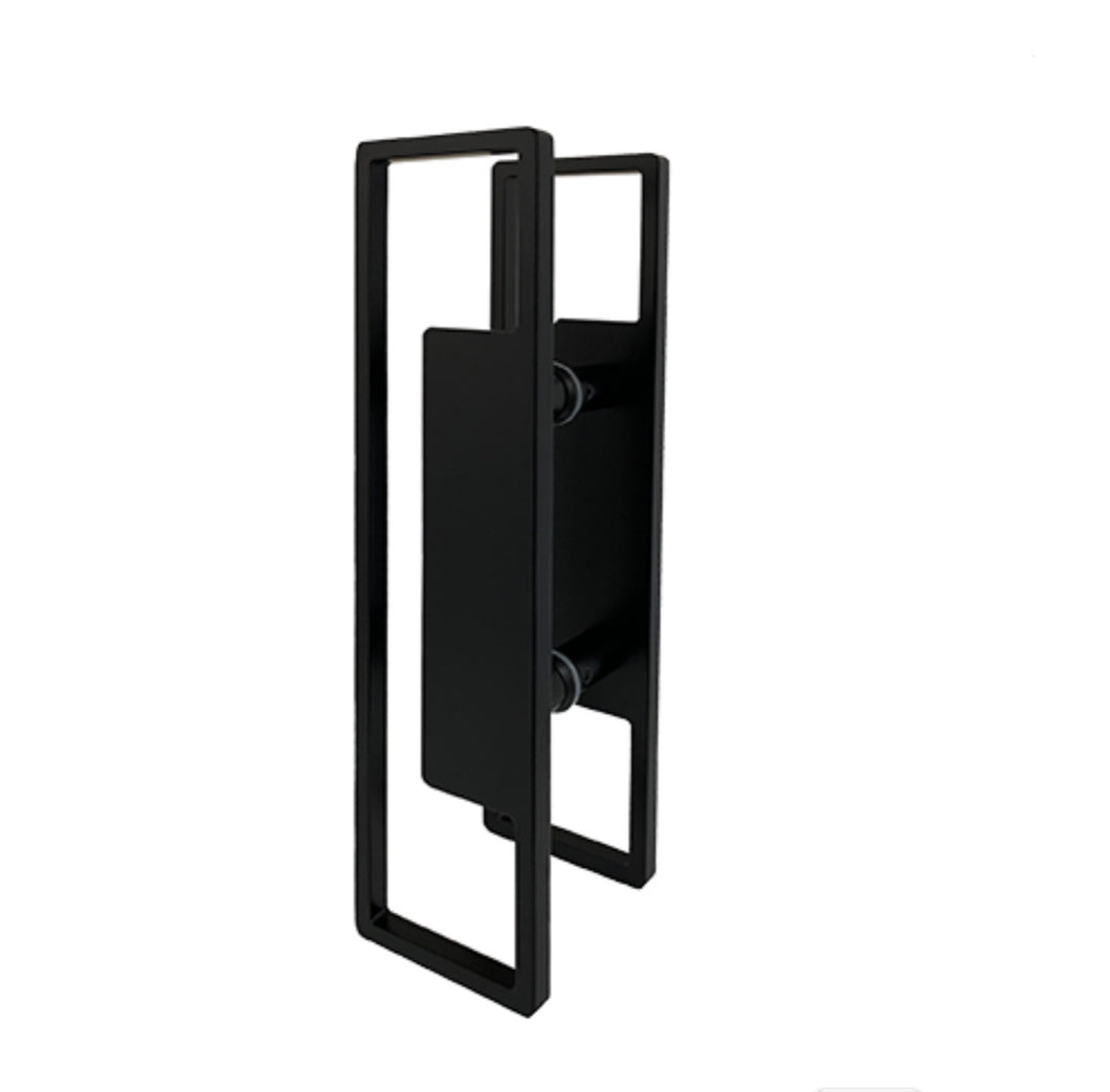 400mm JD5-Matt Black Entry Door Pulls (Pair)