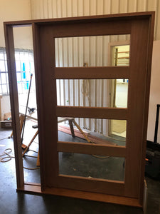 JDQ 4 Lite-B 1200 x 2040 x 40 Door & Frame Package