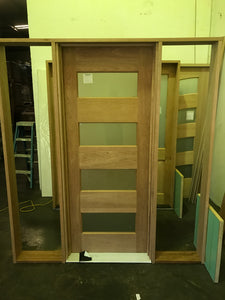 JDQ 4L-B  Pre hung door and frame