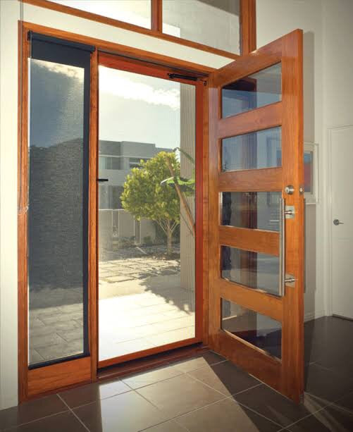 Crimsafe pre hung screen doors