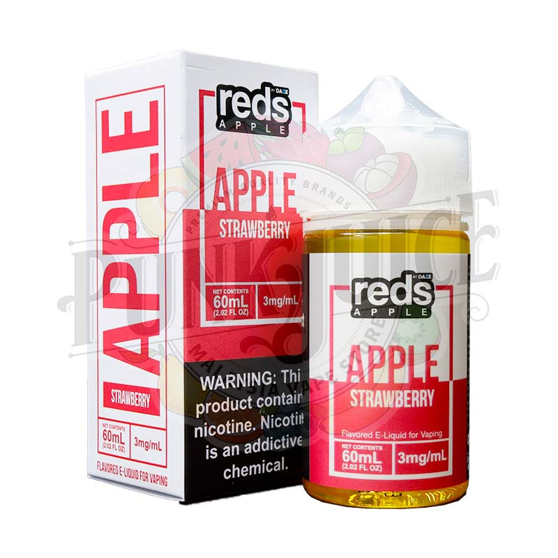 7 Daze Reds Apple Strawberry - Punk Juice Vape Store