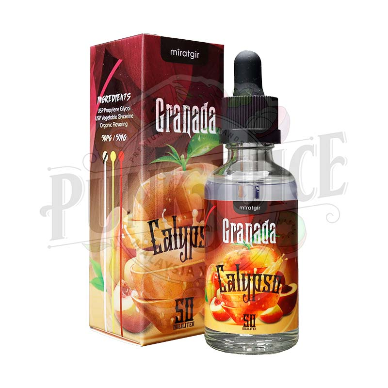 Granada Calypso 50ml box and bottle