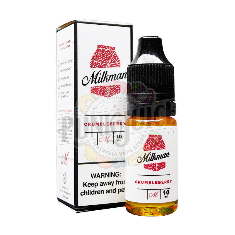 The Milkman Crumbleberry Salt Nic