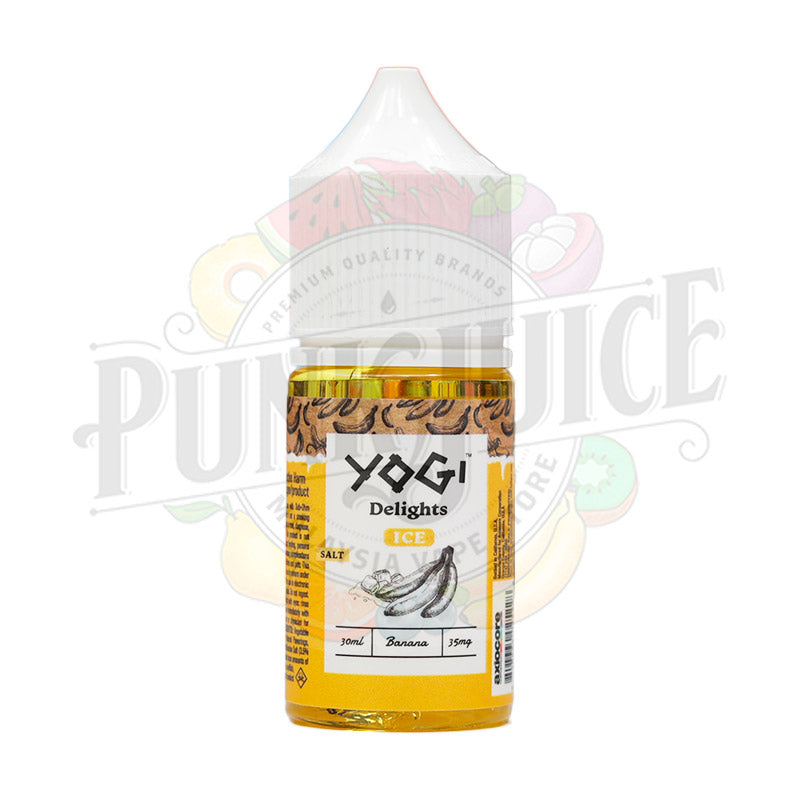 Yogi Salts - Banana Ice - 30ml bottle