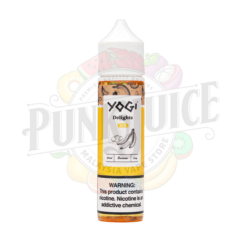 Banana Ice (Delights Series) - Yogi E-liquid