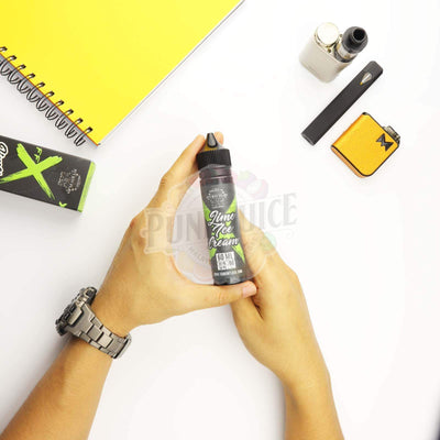 Fcukin Flava X Lime Ice Cream 60ML-Punk Juice Vape Store