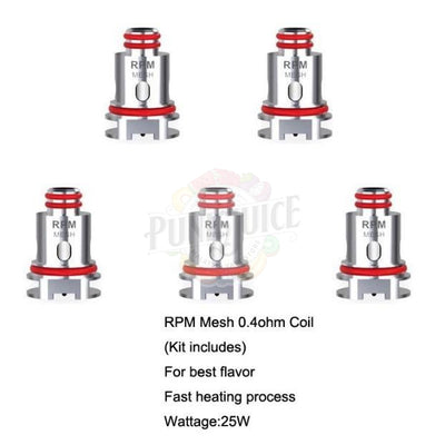 SMOK REPLACEMENT COILS RPM NORD-Punk Juice Vape Store