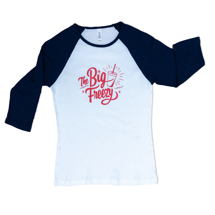 The Big Freezy Ladies' Baseball Tee