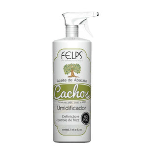 Felps Curls Aguacate Aceite de oliva Humidificador No Poo 2ABC - 4ABC 500ml / 16.9fl.oz