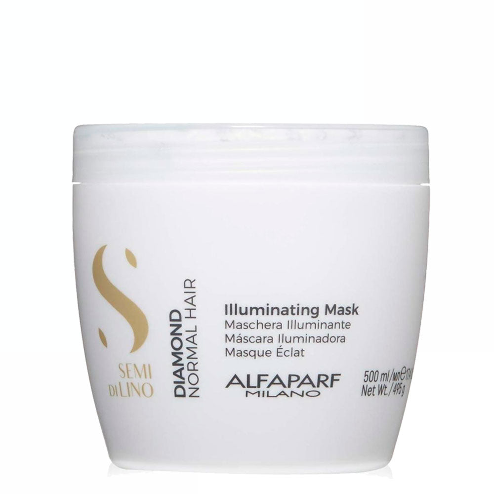 Alfaparf Milano Semi Di LINO Diamond Normal Hair Illuminating Mask 500ml/17.4fl.oz