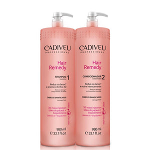 Cadiveu Hair Remedy Lavatory Kit 2x980ml/2x33.13fl.oz