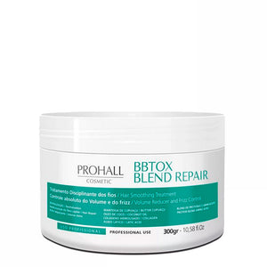 Prohall BBTOX Blend Repair Hair Smoothing Organic Treatment 300g/10.5fl.oz